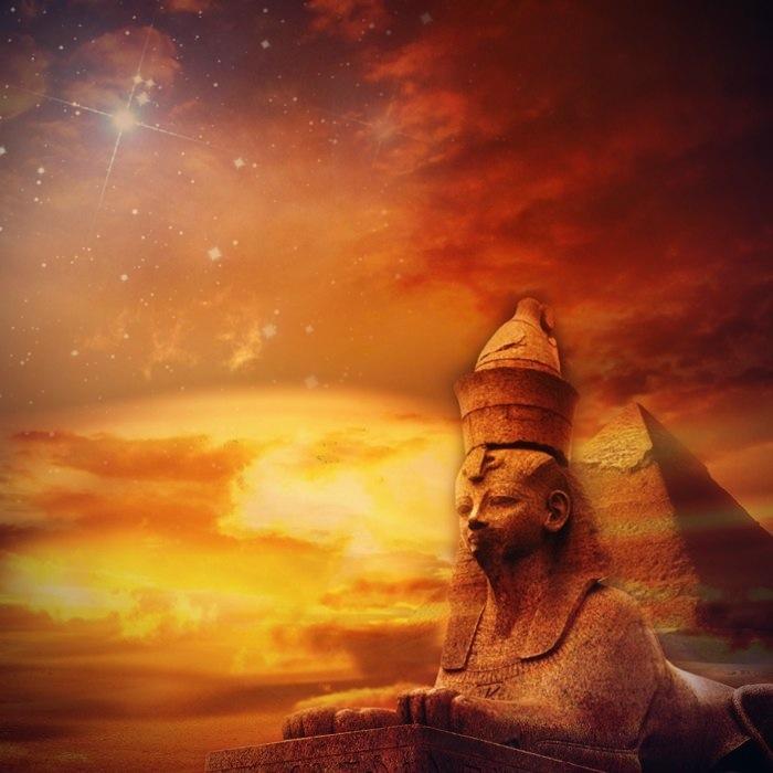 Egyptian Sunset Edit