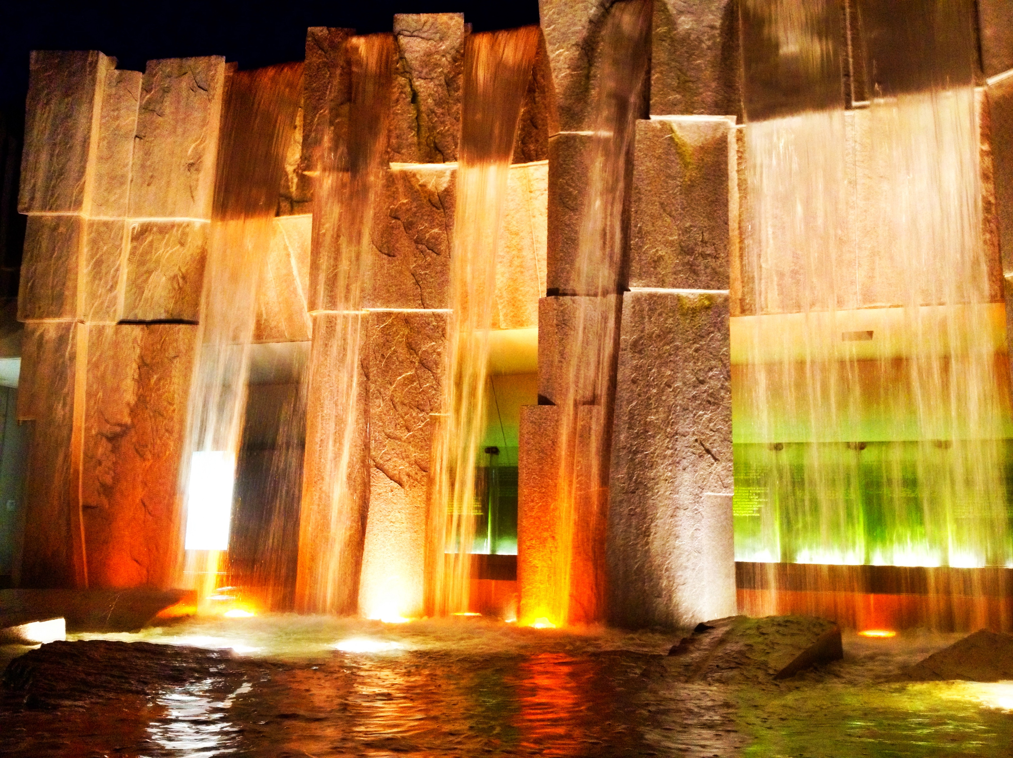 Martin Luther King Jr. Memorial Fountain