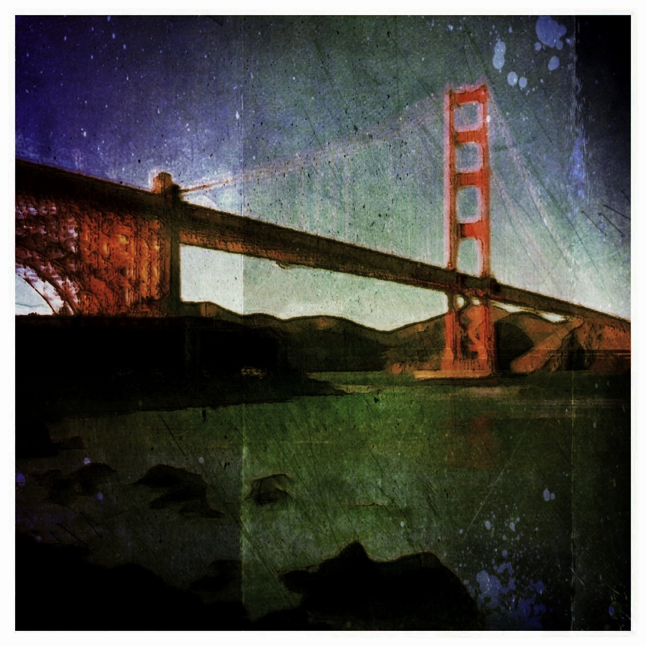 Golden Gate Bridge - February 8th, 2013