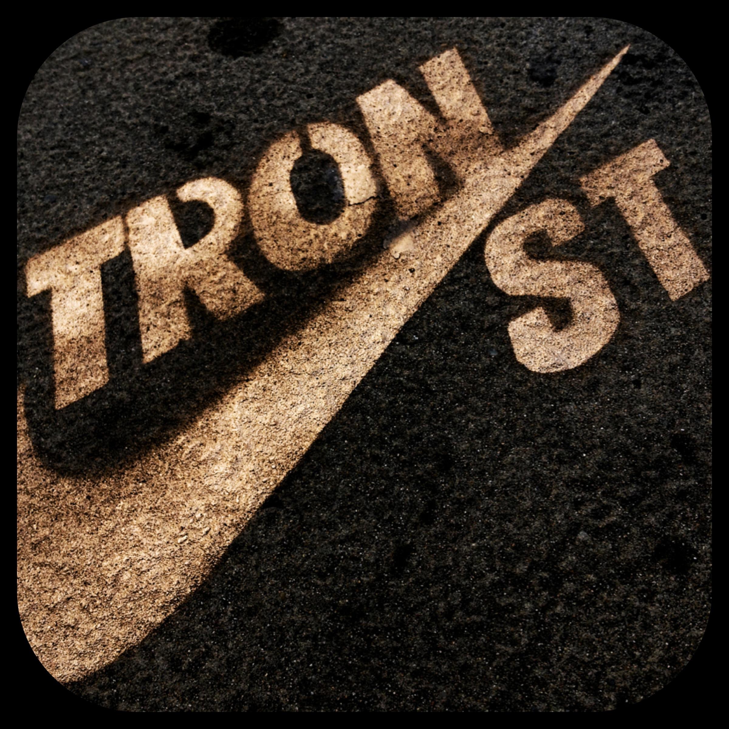 Tron Graffiti Stencil