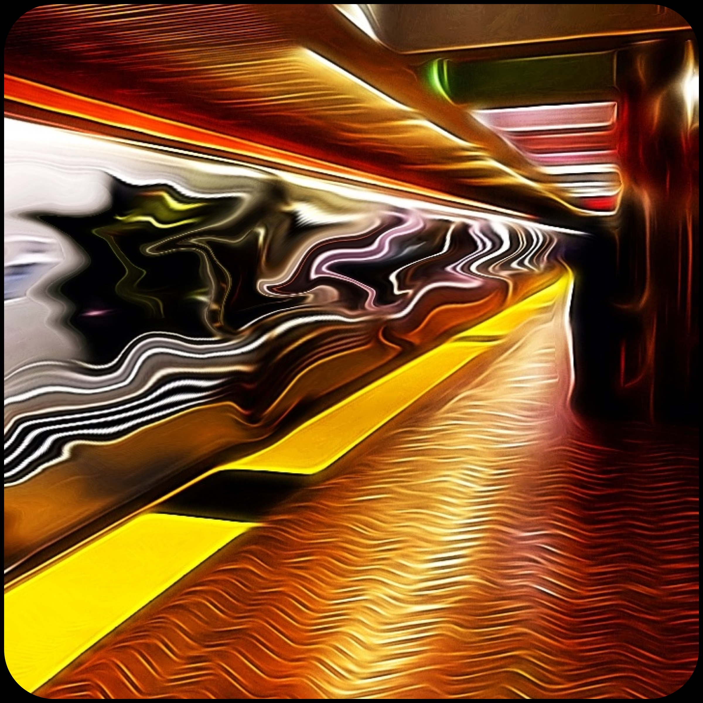 Warped Speed - at the Powell St. BART Station